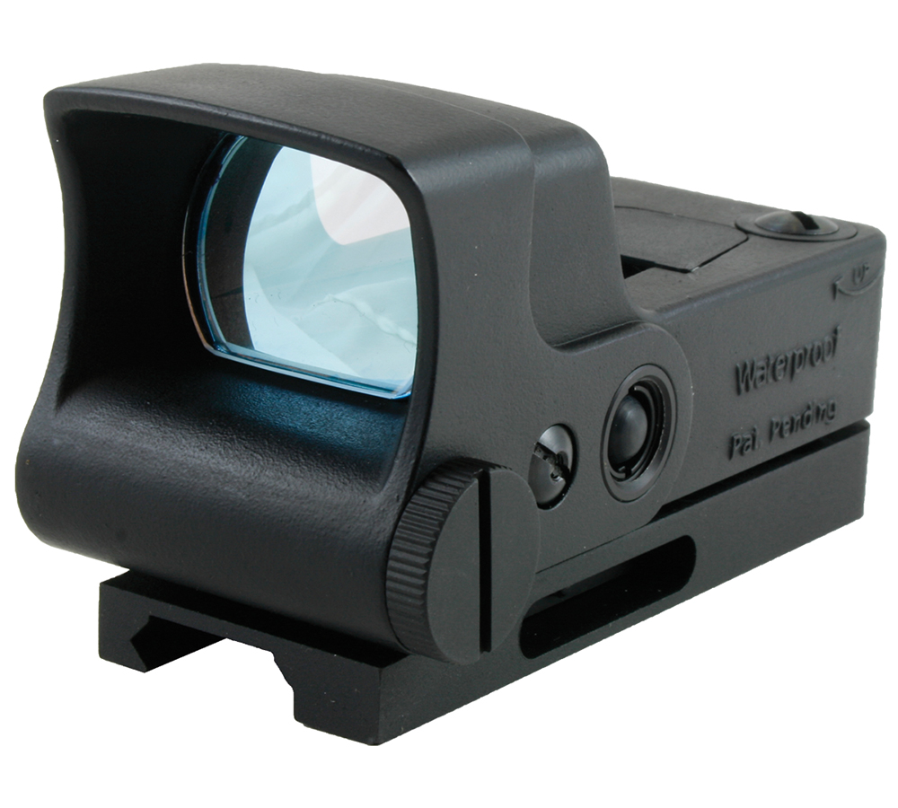 Aimshot HGPROA HG-Pro 1x 34mm Obj Unlimited Eye Relief  5 MOA Dot Red Black Matte CR123A Lithium