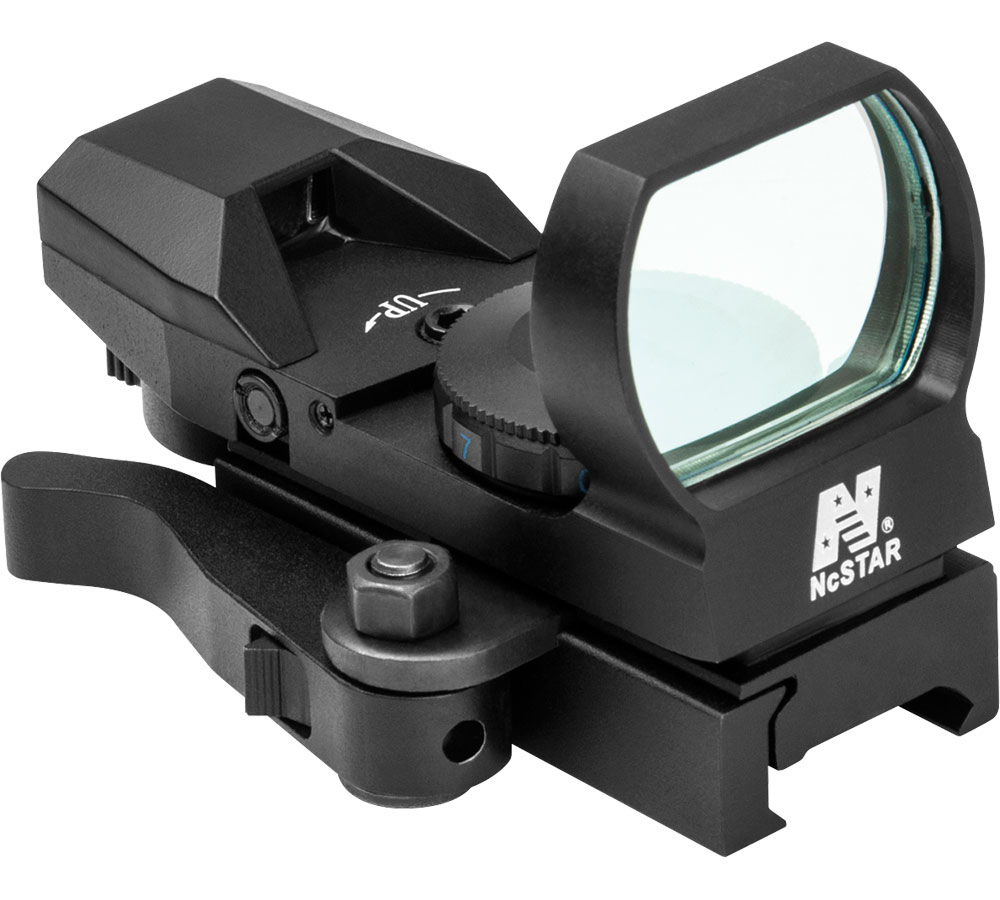 NC Star Reticle Reflex Sight 3 MOA Dot Size Aluminum Black QR Mount