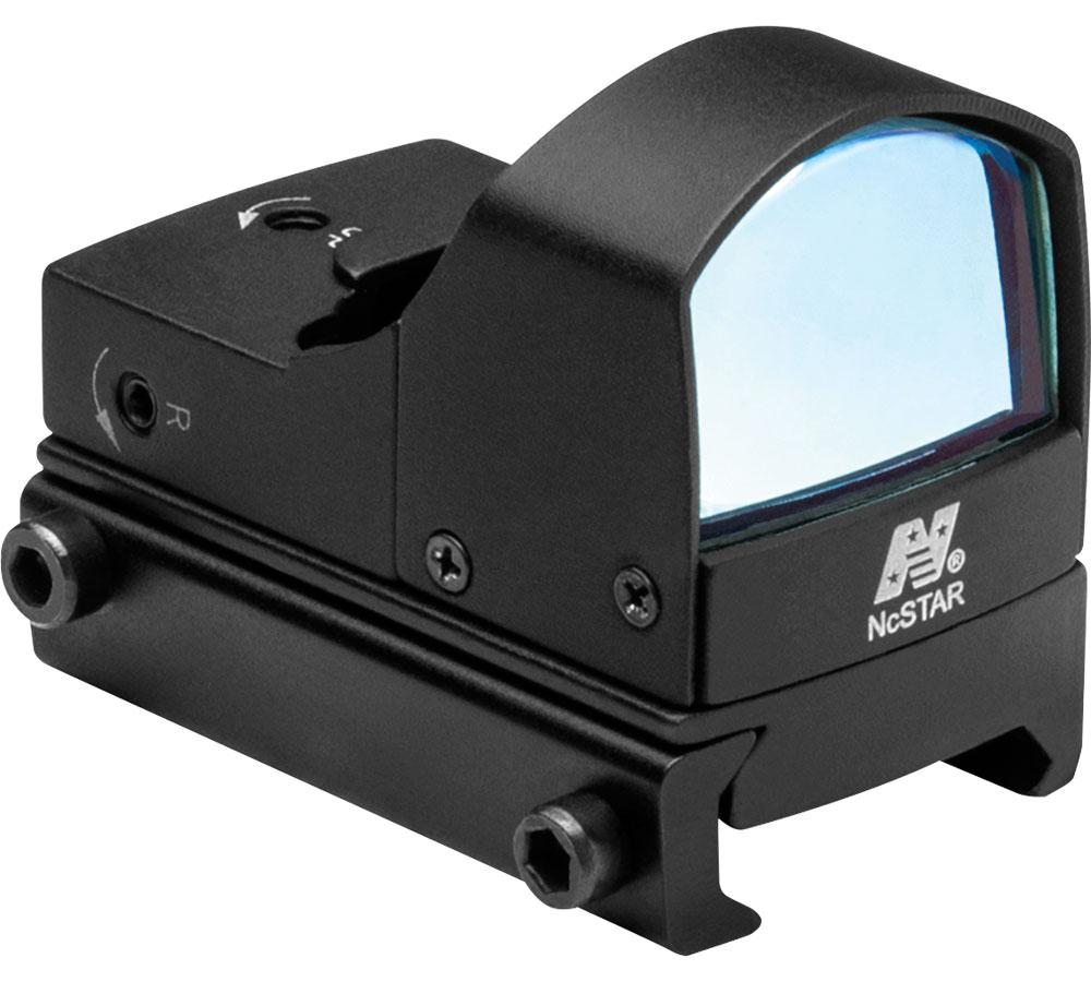 NC Star Micro Blue Dot Optic with Reflex Sight 2 MOA Aluminum Black