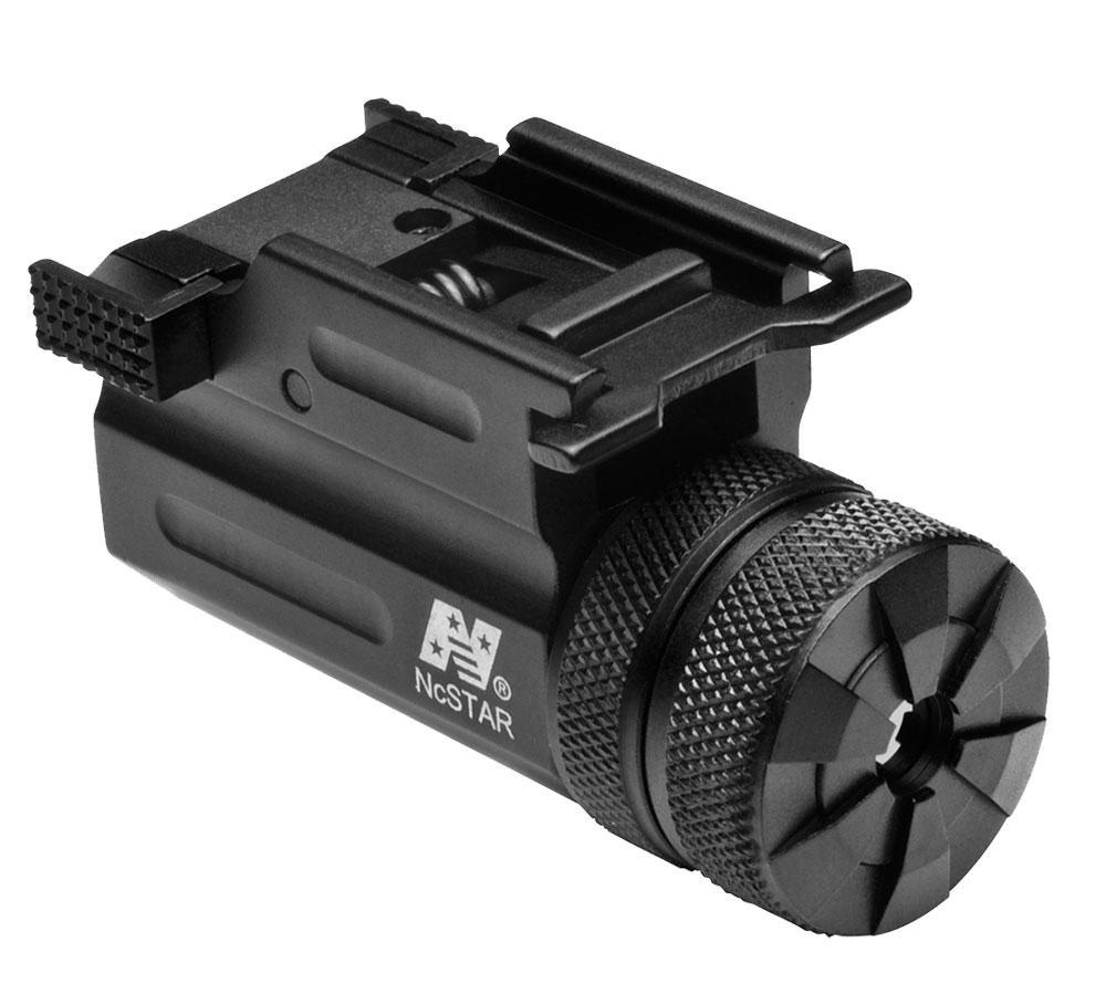 NCStar AQPTLMG Compact Green Laser w QR Weaver Mount Compact Subcompact Picatinny
