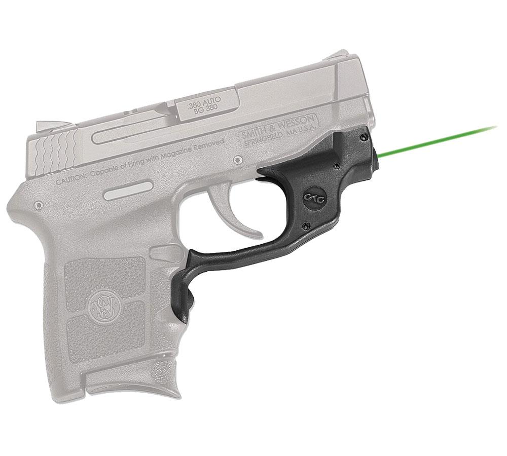 Crimson Trace LG454G Laserguard  Green Laser S&W M&P Bodyguard Trigger Guard Black