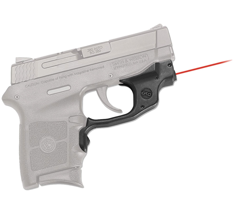 Crimson Trace LG454 Laserguard  Red Laser S&W M&P Bodyguard Trigger Guard Black