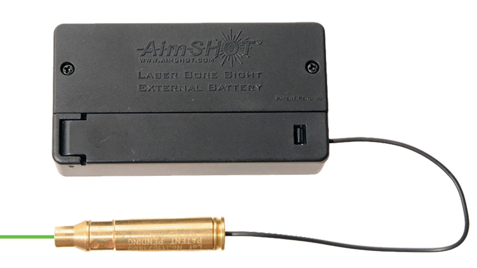 Aimshot Boresigh .223 Green Laser with External Battery Box