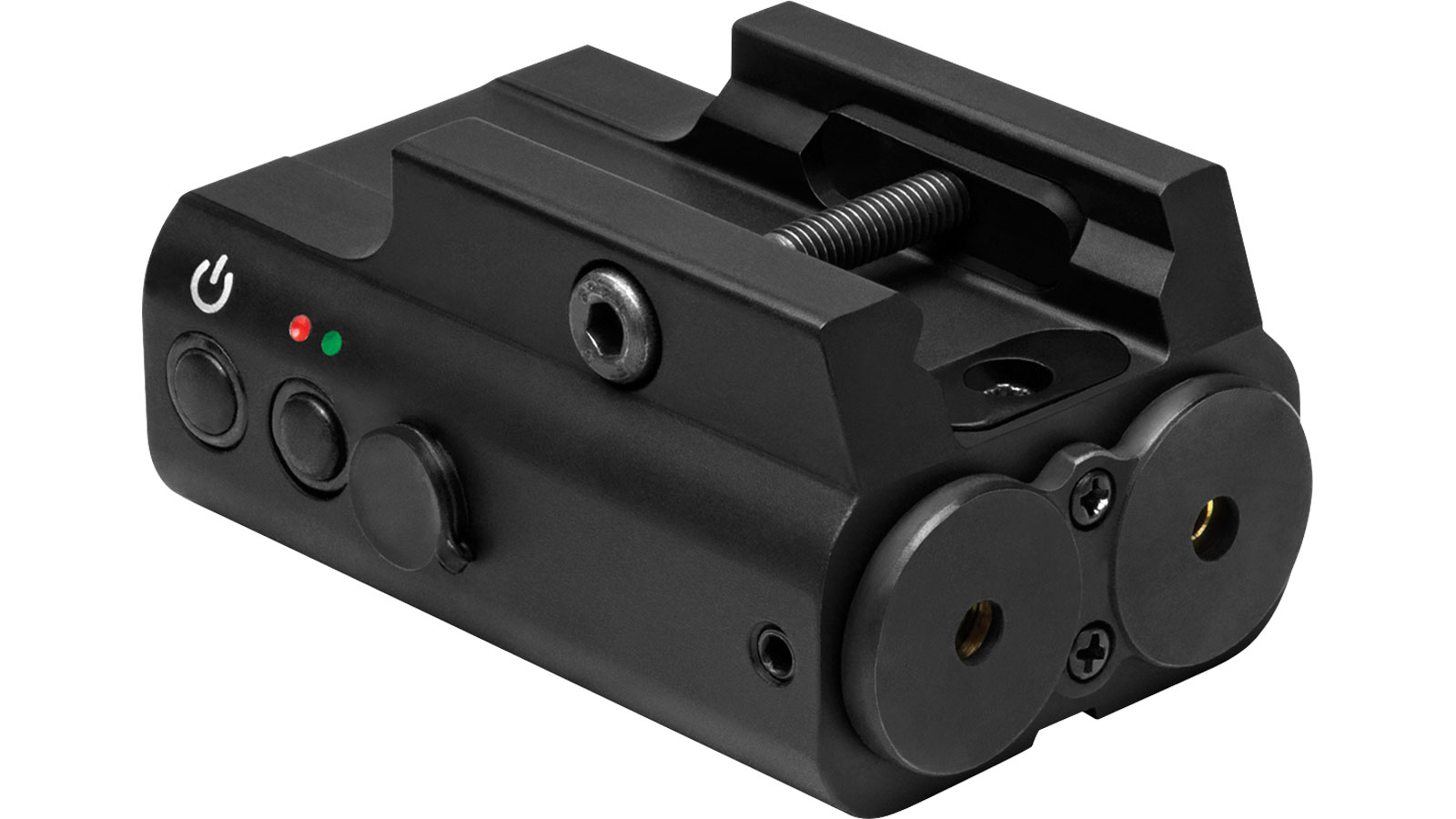 NC Star Red Green Laser With Picatinny Base Black