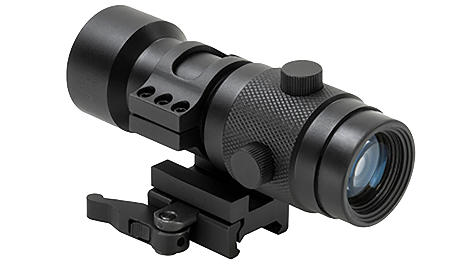 NC Star 3X Magnifier With 30mm Flip To Side Mount