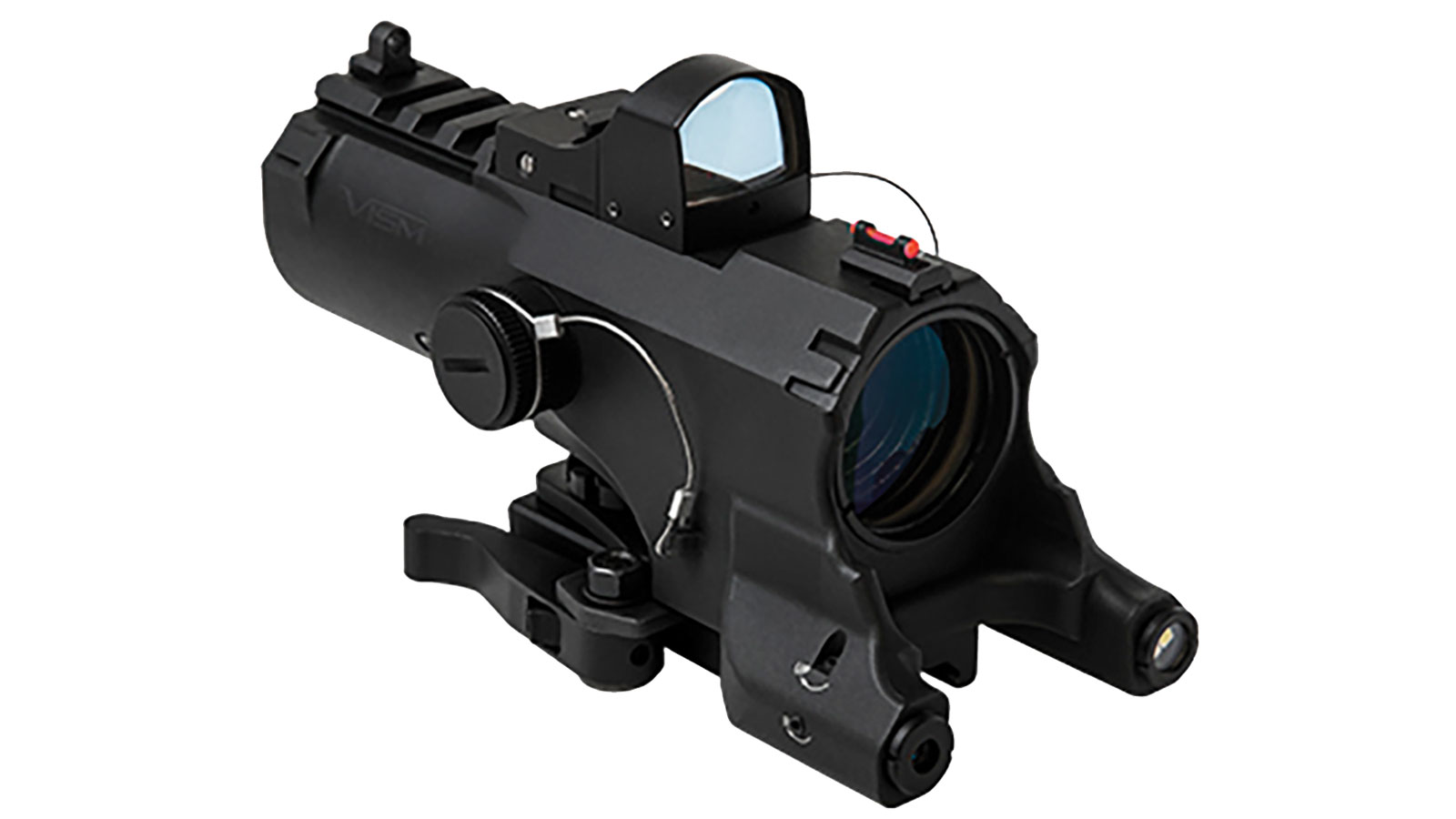 NcStar Eco 4x Scope Laser and LED Micro Red Dot