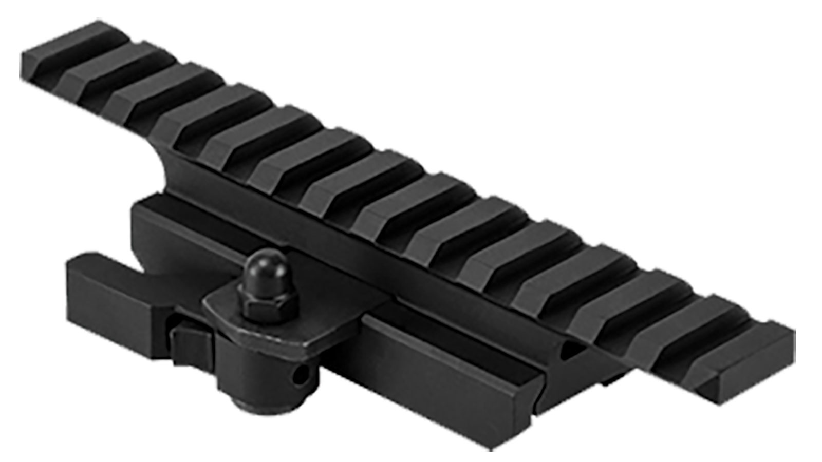 NCStar MARFQV2 Riser For AR-15 1-Piece Style Black Finish