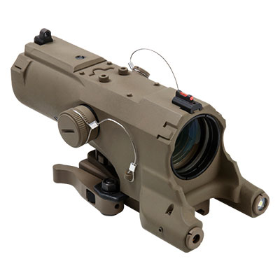NcStar Eco Mod2 4x34mm Scope with Green Laser and Navigation LED