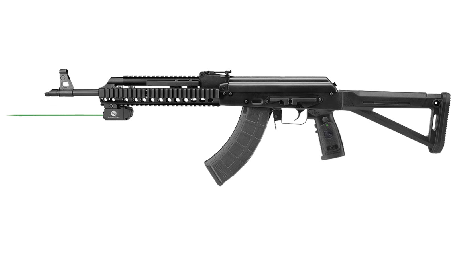 Crimson Trace LNQ103G LiNQ Wireless Green Laser AK Type Rifles