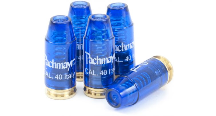 Pachmayr 03228 Snap Caps Handgun Rounds 40 S&W Plastic w|Brass Base 5