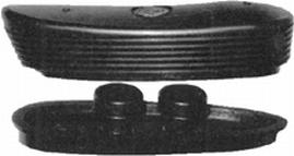 Limbsaver 10001 Classic Precision Fit Recoil Pad Ruger 77|Brn Gold|Citori Black