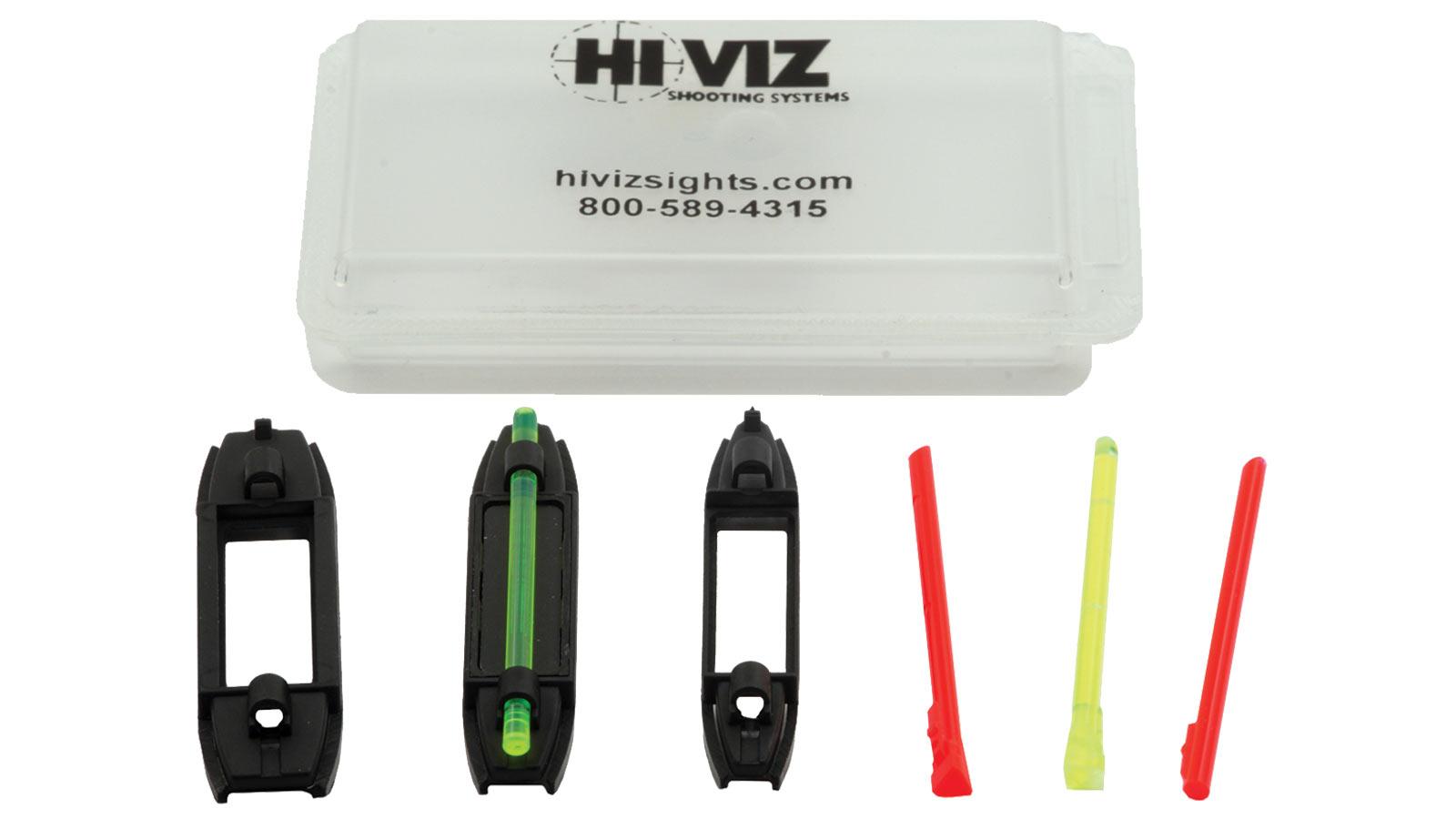 Hiviz BB2005 Birdbuster Magnetic Fiber Optic Front Sight Shotgun Red|Green