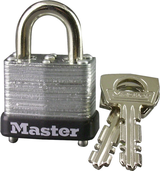 MasterLock 1 inch LAM Steel Warded