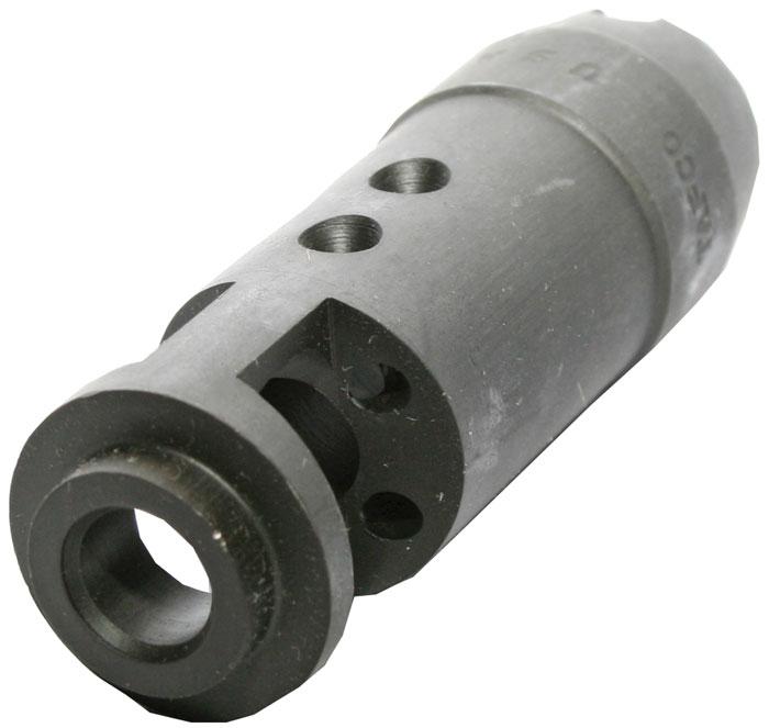 Tapco 16611 Intrafuse AK-74 Flash Hider Steel Black Manganese Phosphate 14x1 LH tpi