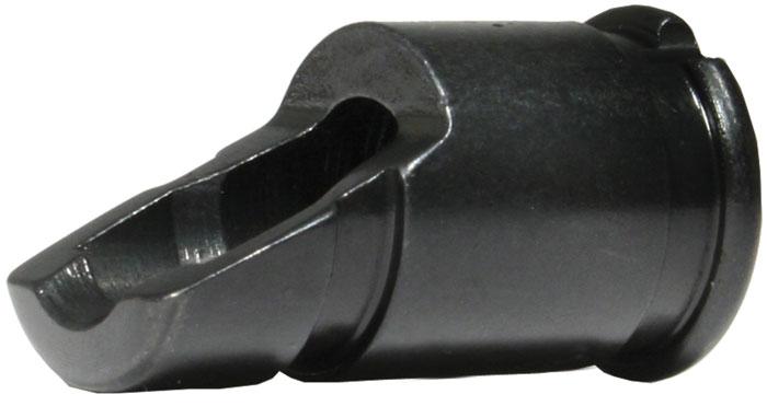 Tapco 16612 AK Slant Flash Hider Steel Black Manganese Phosphate 14x1 LH tpi