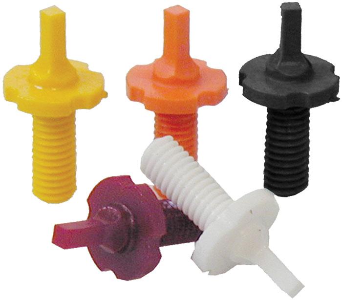 Tapco 16619 Intrafuse AR Enhanced Color Sight Set AR-15|M4|M16 Composite Black, Red-Orange, Orange, Raspberry Red, Neon Yellow