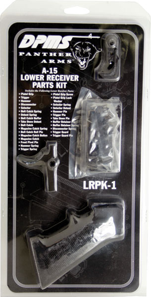 DPMS LRPK1 AR-15 Lower Receiver Parts Kit 5.56 NATO Black