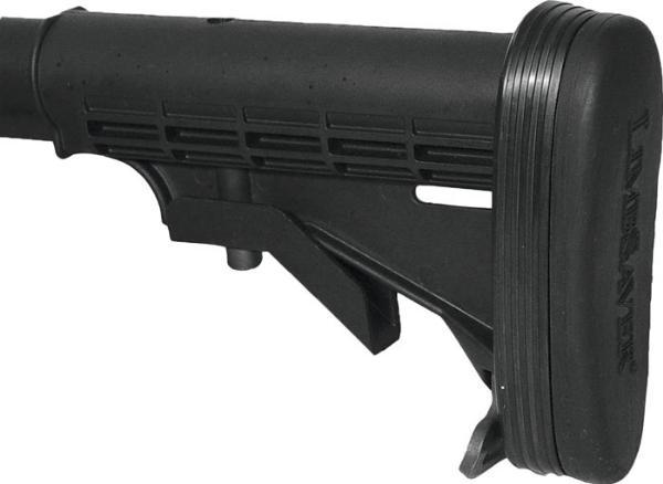 Limbsaver 10019 AR-15|M4 Recoil Pad AR-15 Black NAVCOM
