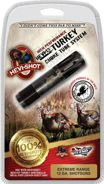 Hevishot 450127 Hevi-Choke Turkey Mossberg 12 Gauge Extended Range 17-4 Stainless Steel Black