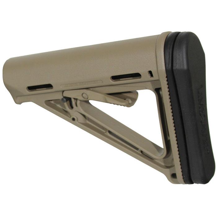 Limbsaver 10025 AR-15|M4 Magpul MOE|CTR|STR Rubber Buttpad Black