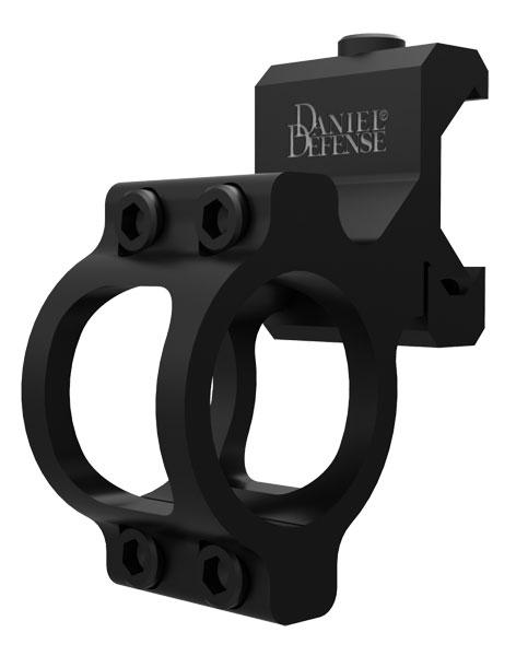 Daniel Defense 02016514 Offset Style Flashlight Mount For Flashlight Black Hard Coat Anodized Finish