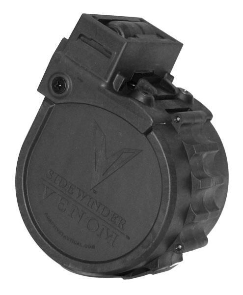 Adaptive Tactical Sidewinder Venom Rotary Magazine Black 12 Ga 2.75 In 10Rds