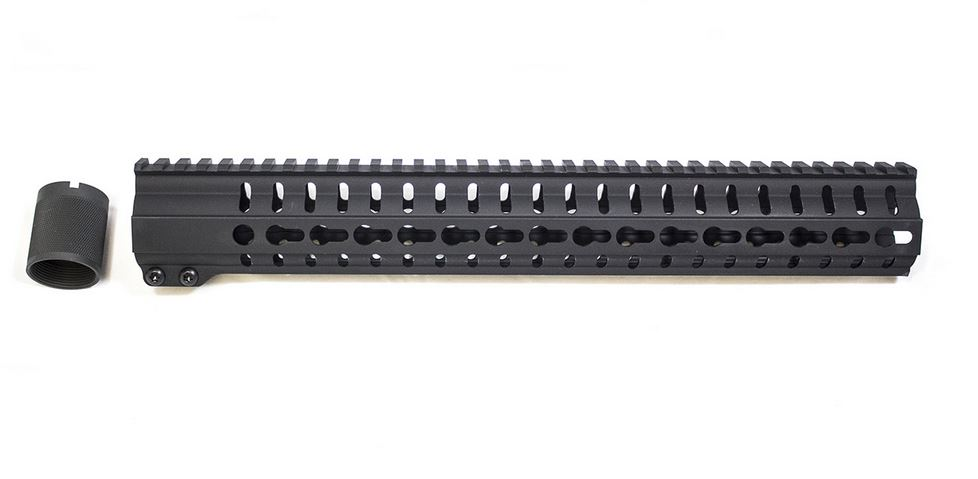 CMMG 55DA291 Hand Guard Kit AR-15 .223 6061-T6 Aluminum 14 L in.