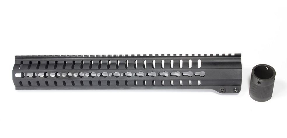 CMMG 38DA22D Hand Guard Kit AR-15 MK3 15 6061-T6 Aluminum in.