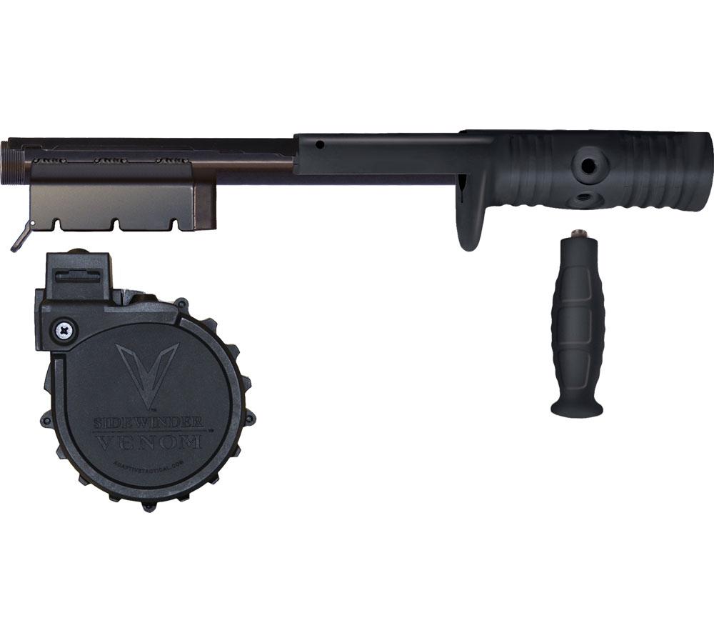Adaptive Tactical 05100 Venom Kit 10rd Drum 500 Black