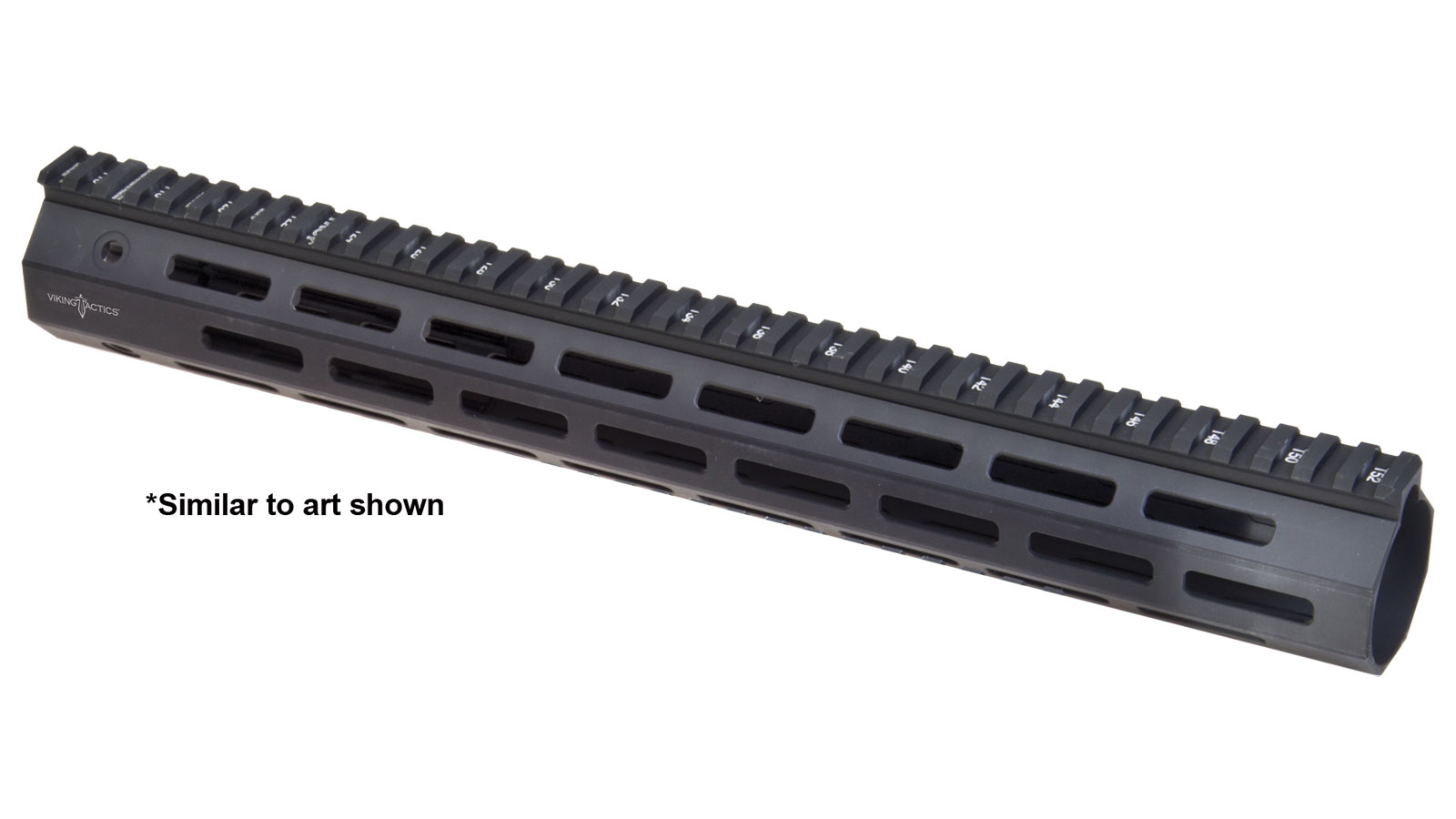Troy Industries 15-inch M-LOK 5.56 Rail Aluminum, Flat Dark Earth with VTAC Logo