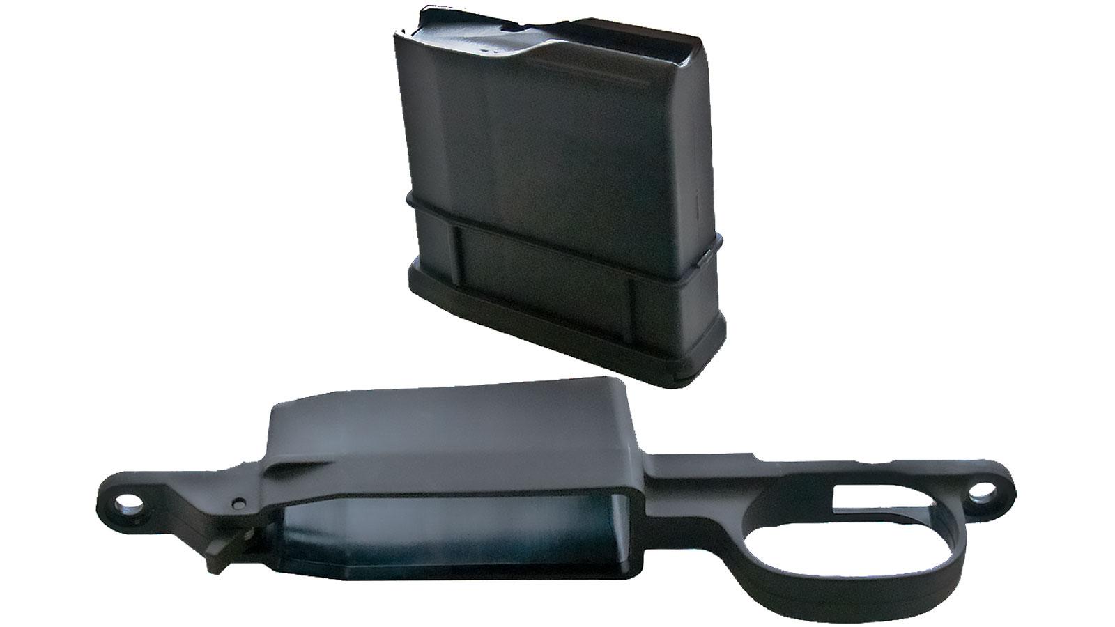 Howa ATIK5R223REM Ammo Boost Kit Remington 700 BDL 223 Rem|204 Ruger 5 rd Polymer Black