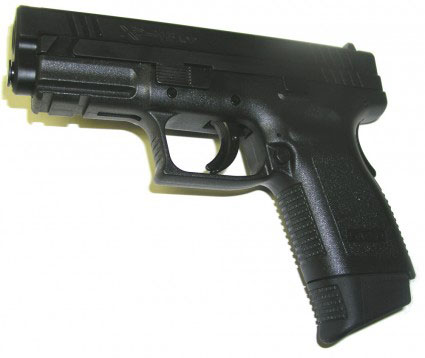 Pearce Grip PGXD45+  Grip Extension Springfield Armory XD Matte Po