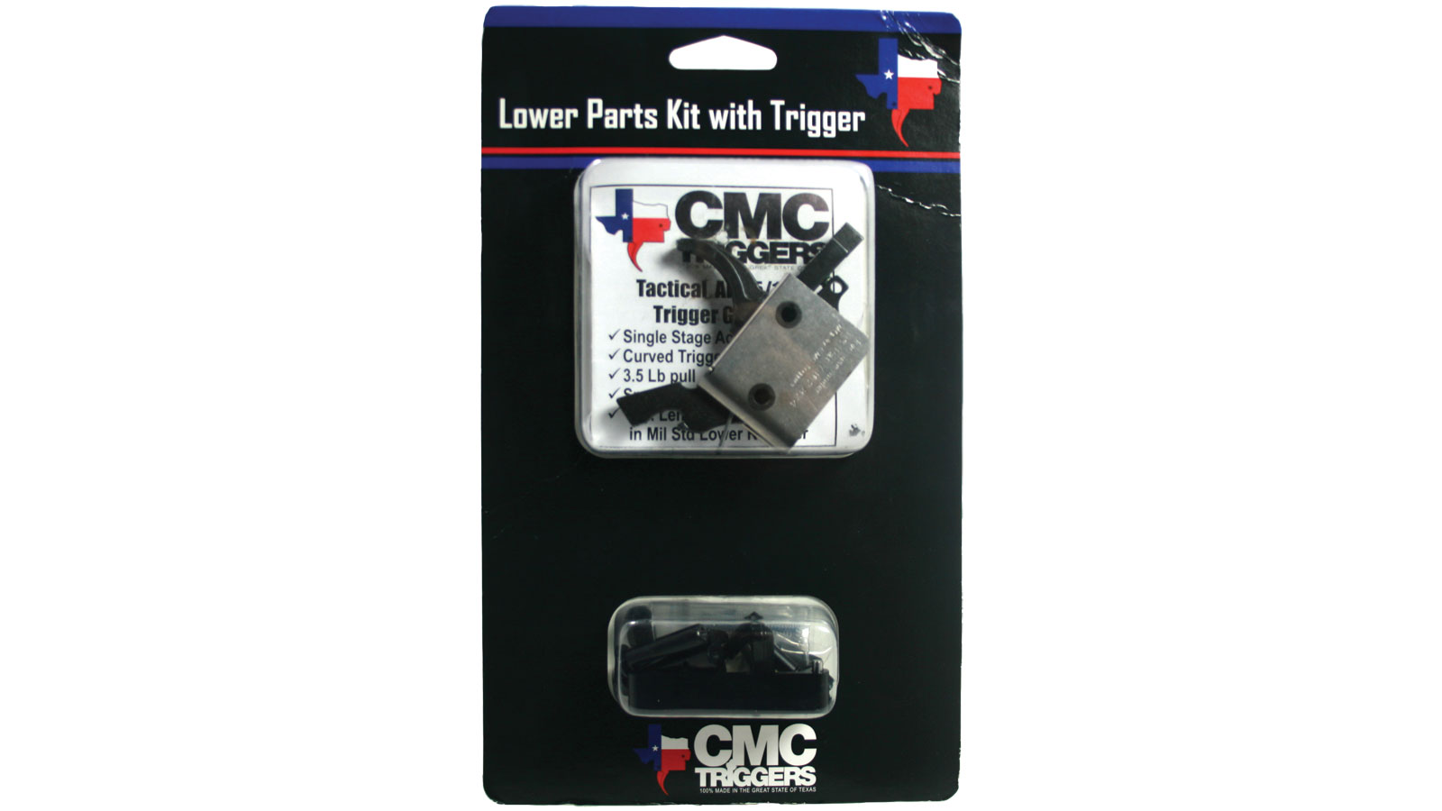 CMC AR-15 Lower Assembly Kit Curved