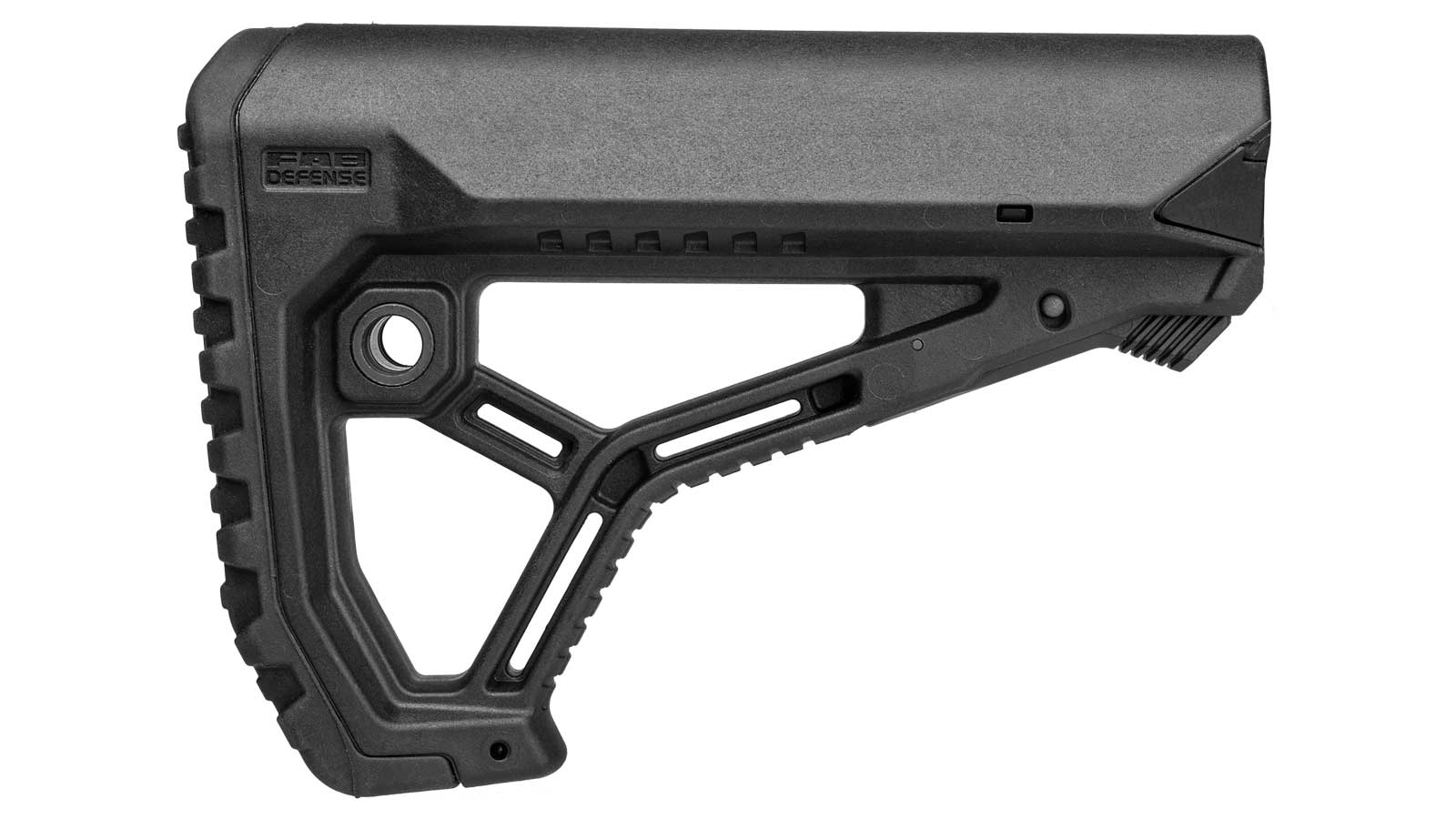 Mako Group Fab Defense AR15 Butt Stock Mil-Spec|Commercial Polymer Black
