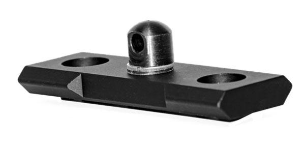 Grovtec US Inc GTSW240 Bi-Pod Stud Mount M-Lok Steel 2.3 in.