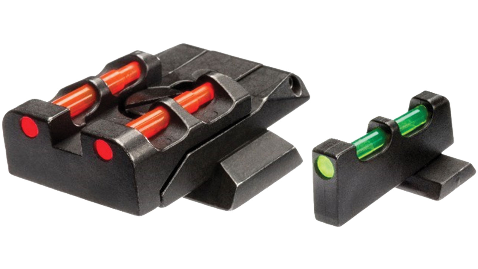 Hiviz  M&P Front and Rear Sight S&W M&P Green|Red|White Front Green|Red|Black Rear Black