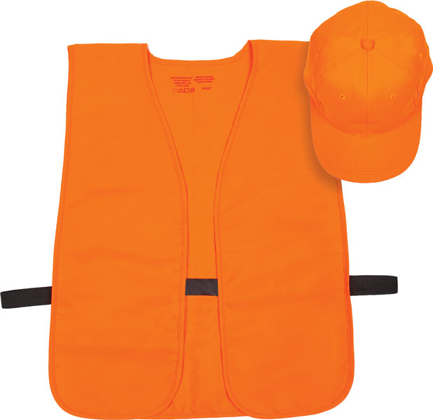 Allen Blaze Orange Hat|Vest
