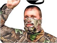 Primos PS6739 Mask Stretch Fit Face 1/2 Face Mask