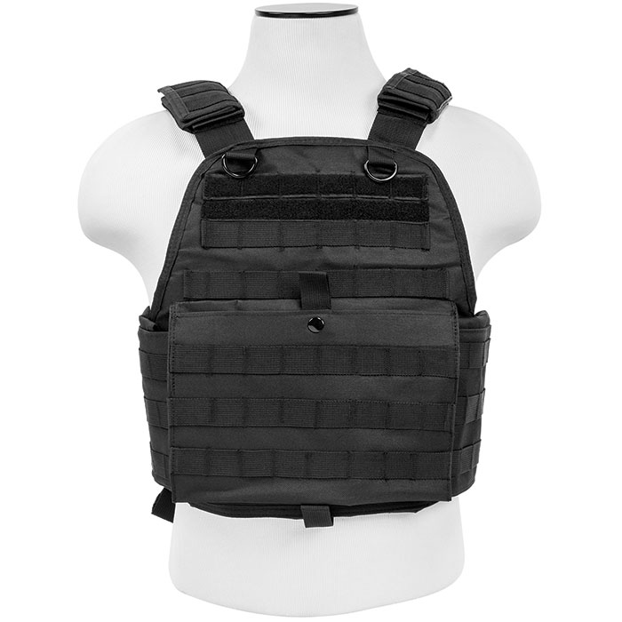 NCStar Plate Carry Vest Black