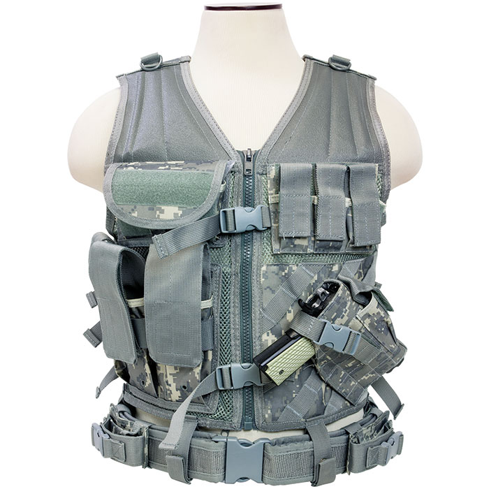 NCStar Tactical Vest|Digital Camo Acu