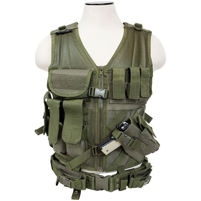 NCStar Tactical Vest Digital Camo