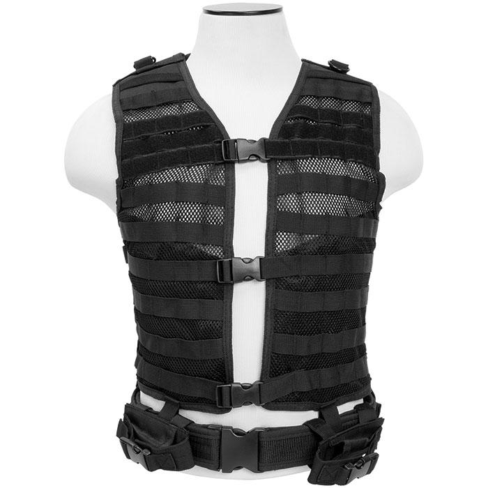NCStar MOLLE|PALS Vest Black