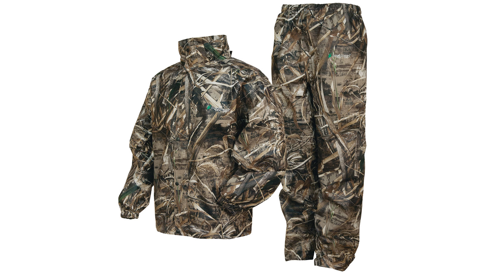 Frogg Toggs All Sports Camo Suit Max 5 Camo Small