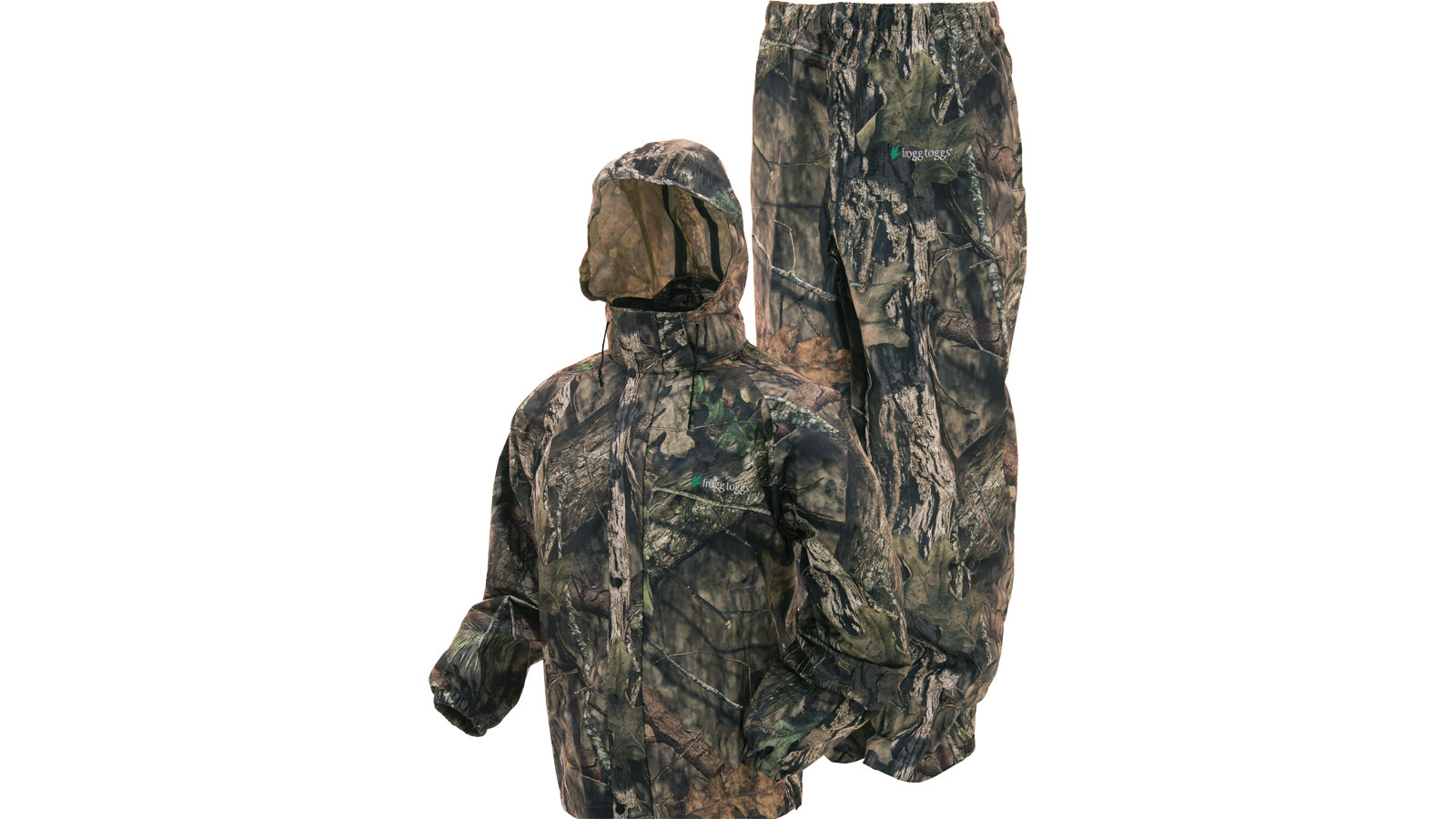 Frogg Toggs All Sport Waterproof Suit Mossy Oak Break-Up Country Camo Size Large