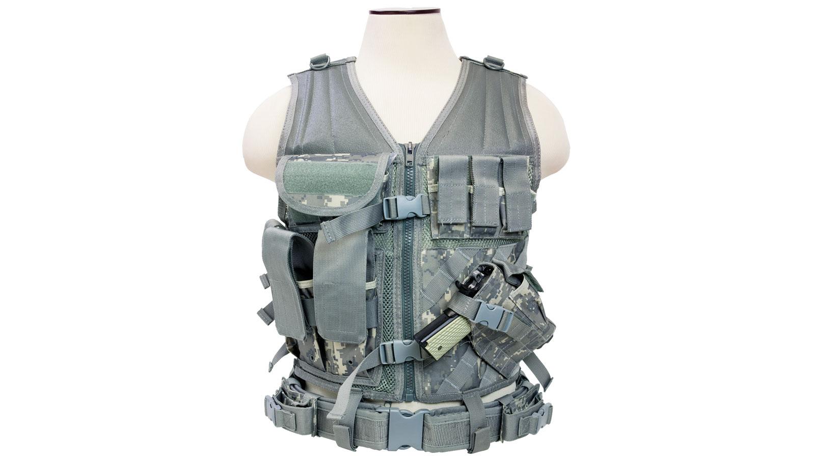 NCStar Tactical Vest|Digital Camo Acu