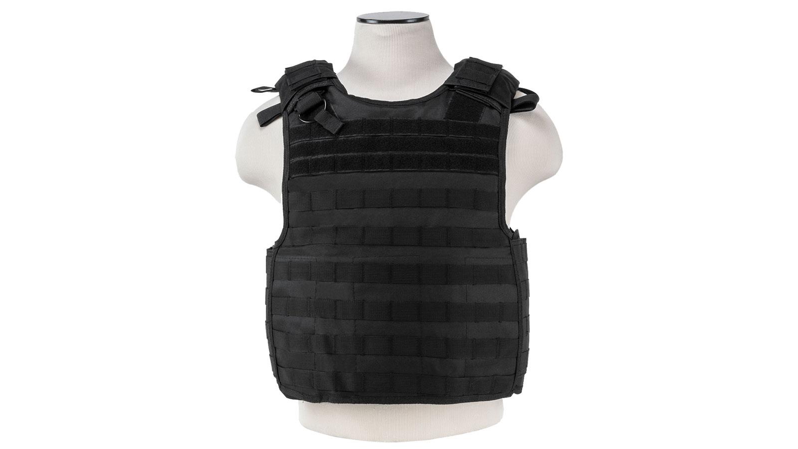 NC Star Quick Release Plate Carrier Vest Black