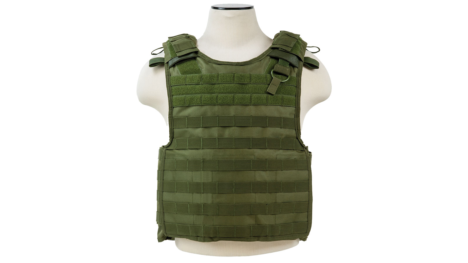 NC Star Quick Release Plate Carrier Vest Green