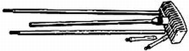 Outers 22-2512CAL Aluminum Pistol Rod