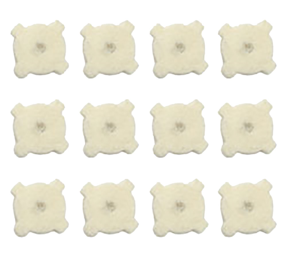 Otis FG2715PDB Star Chamber Cleaning Tool 5.56mm|AR-15 Replacement Pads 12 Pack