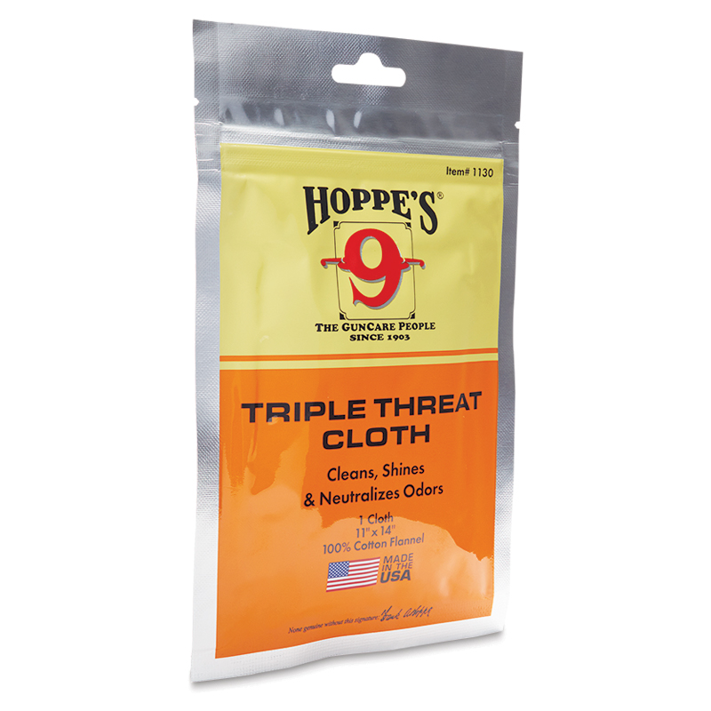 Hoppes 1130 Triple Threat Cloth Bag